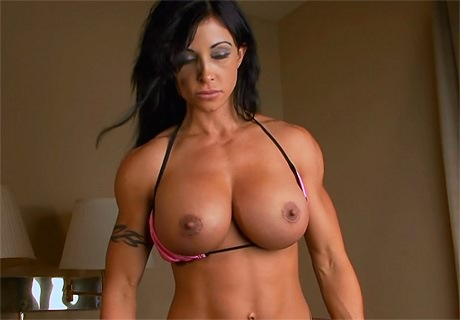 huge tits fitness models